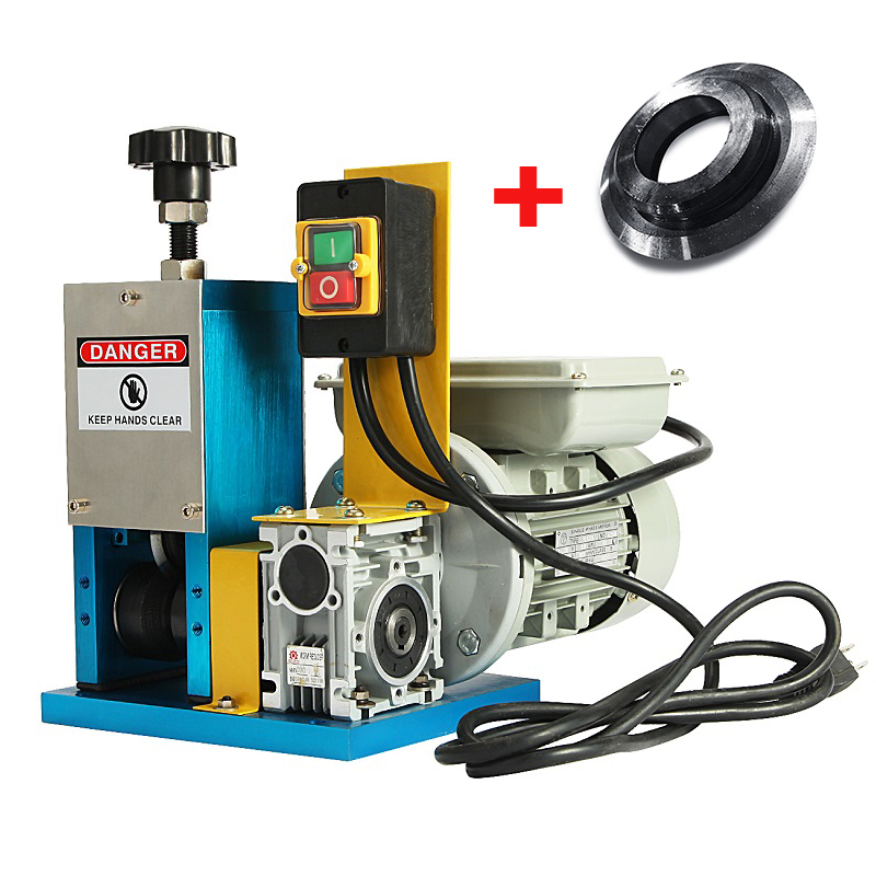 BEAMNOVA Automatic Powered Wire Stripper Machine with Bla...