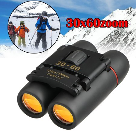 TSV 30X60 Zoom Powerful Mini Binoculars, Durable Clear Binoculars for Bird Watching Sightseeing Hunting Wildlife Watching Sporting Events with Low Light Night