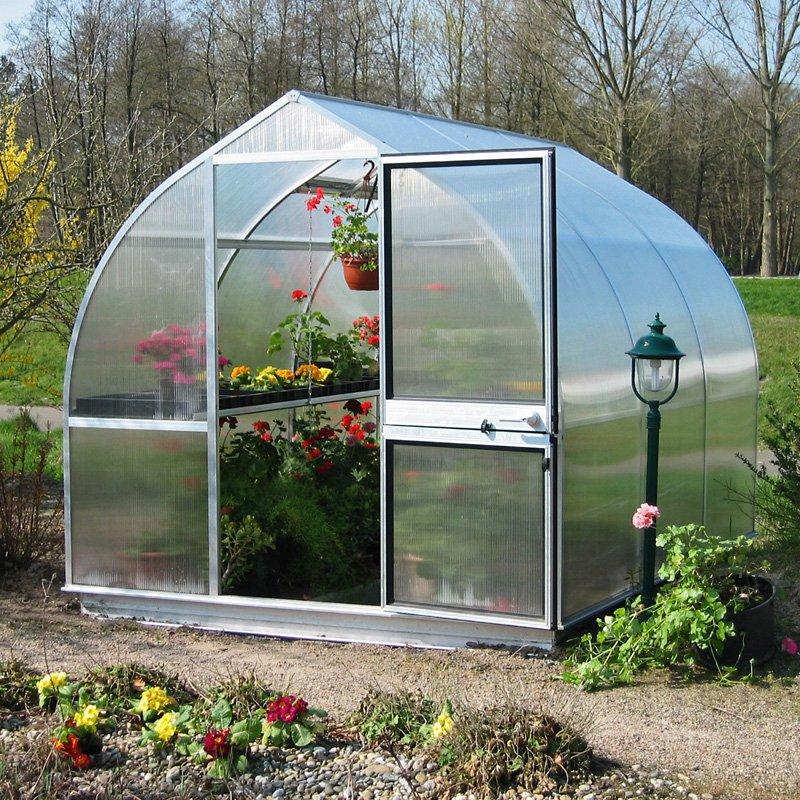 Hoklartherm RIGA IIIS 7.6 x 10.5-Foot Greenhouse Kit