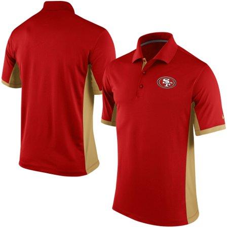 San Francisco 49ers Nike Team Issue Performance Polo - Scarlet (Team C Performance)
