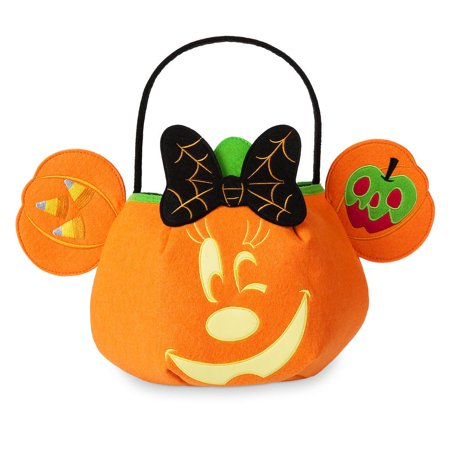 Disney Halloween Trick or Treat Minnie Mouse Bag Glows in the Dark New with Tags