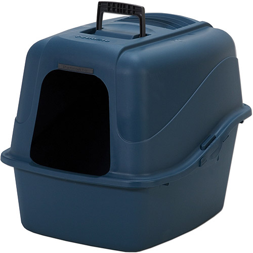 Petmate Kitty Komplete Litter Pan Walmart Com
