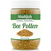 Stakich BEE POLLEN GRANULES 10 lbs - 100% Pure, Natural, Unprocessed -
