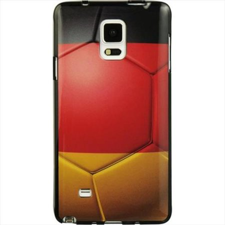 brand new b99ed 85670 DreamWireless Germany TPU Gel Case Cover For Samsung Galaxy Note 4,  Red/Black