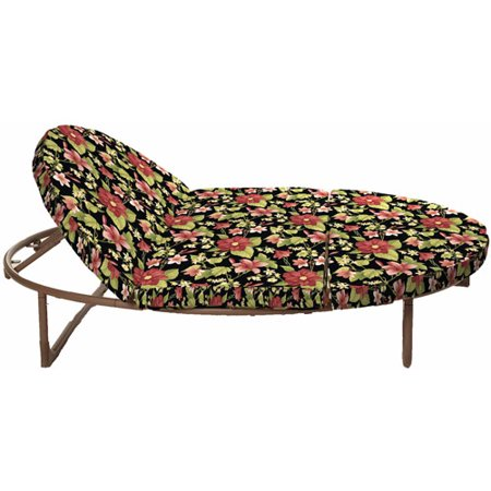 Mainstays outdoor orbital double lounger cushion set for Braddock heights chaise lounge