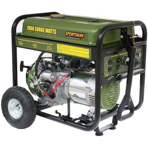 Sportsmans Series 7000-Watt Gas Generator
