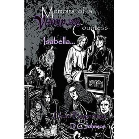 Memoires of a Vampire Countess - eBook