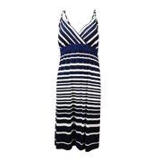 INC International Concepts Women's Striped Summer Dress