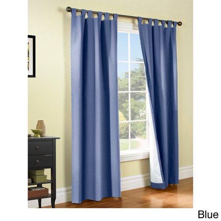 Weathermate Insulated Cotton Curtain Panel Pair 84 Blue