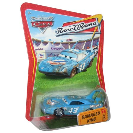 disney / pixar cars movie 1:55 die cast car series 4 race-o-rama damaged -