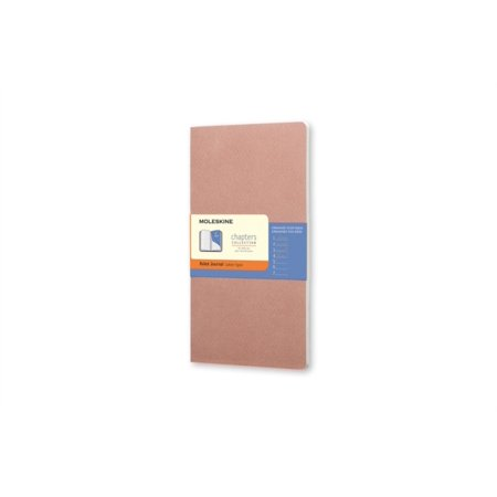 Moleskine Chapters Journal Slim Large Ruled Old Rose Cover (Moleskine Chapters Collection)