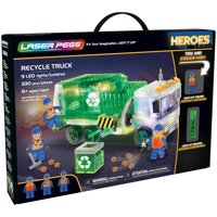 Laser Pegs Recycle Truck