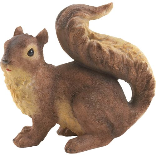 Zingz & Thingz Curious Squirrel Garden Statue by Zingz & Thingz