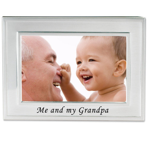 Lawrence Frames Me and My Grandpa Picture Frame