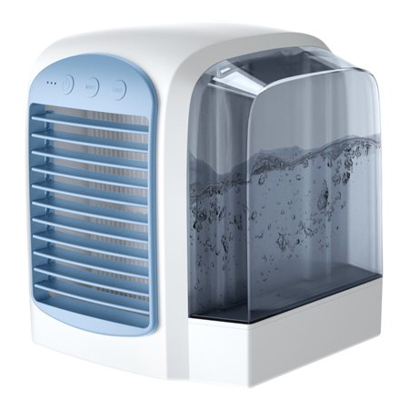 Portable Mini Air Conditioner Cool Cooling For Bedroom Cooler Fan ()