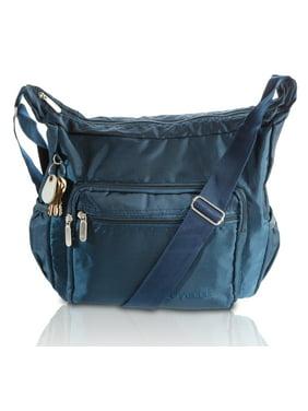 24868506da Product Image Suvelle Lightweight Hobo Travel Everyday Crossbody Bag Multi  Pocket Shoulder Handbag 9020