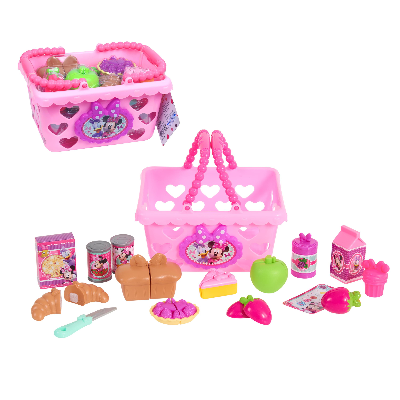 Minnie Bow Tique Bowtastic Shopping Basket Set Ages 3 Walmart Com Walmart Com