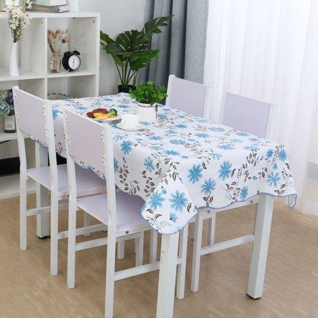 Pink Vinyl Tablecloth (Vinyl Tablecloth Rectangle Tables 54