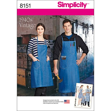 Simplicity All Sizes Apron Pattern, 1 (Simplicity Apron)