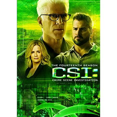 CSI: Crime Scene Investigation: The Fourteenth Season (DVD) (Season Scent)
