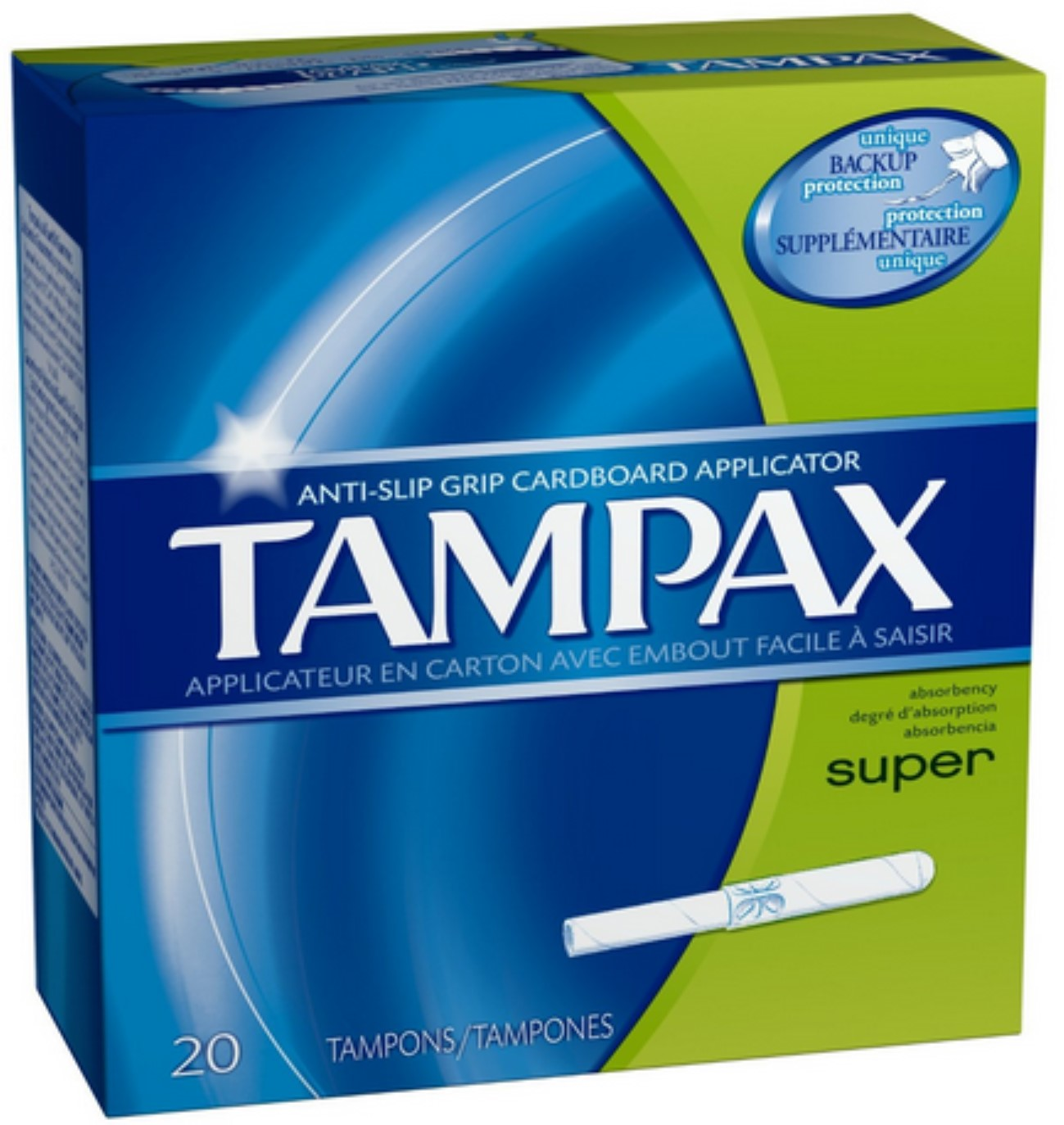 Tampax Tampons Super 20 Each (Pack of 3)