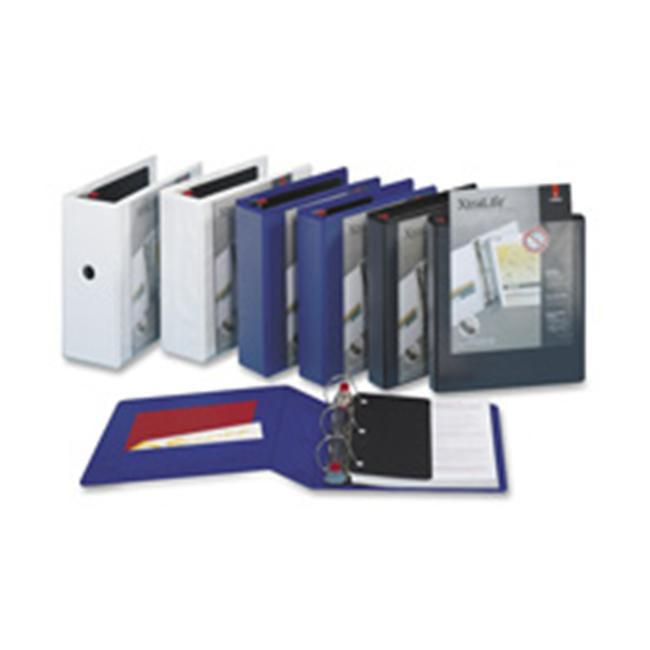 Cardinal Brands- Inc CRD26311 Clearvue Binder- D-Ring- 1-. 50inch Capacity- 11inchx8-. 50inch- Black