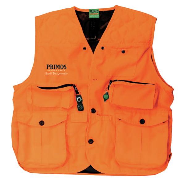 Primos Gunhunter's Vest Lg Blaze Orange 65702 by Primos