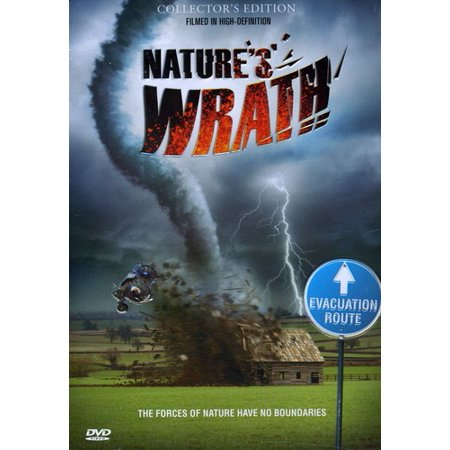 Nature's Wrath (DVD) Look a storm in the eye, through the steely gaze of world-famous adventurer George Kourounis! The intrepid Canadian storm chaser and his Angry Planet crew pull out all of the stops to bring you face to face with Mother Earth at her crankiest! Natures Wrath presents 13 of the groups most harrowing encounters with the elements, filmed in their patented up-close-and-perilous style! Dive into the vortex of a Floridian whirlwind! Spend a (category) five star weekend in the Caribbean with Hurricane Dean! Meet up with ultra marathoners running a tightrope of hot and cold from Death Valley to the Arctic Circle! When Nature lashes out, George doesnt get mad, he gets even closer - and you can join him on the storm front lines!