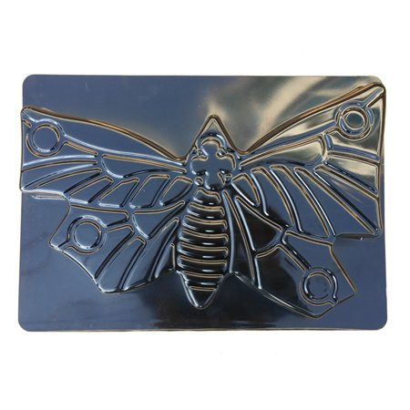 DIY Butterfly Path Maker Mold Manually Paving Concrete Molds Stepping Stone  Road Making Tool (Black)