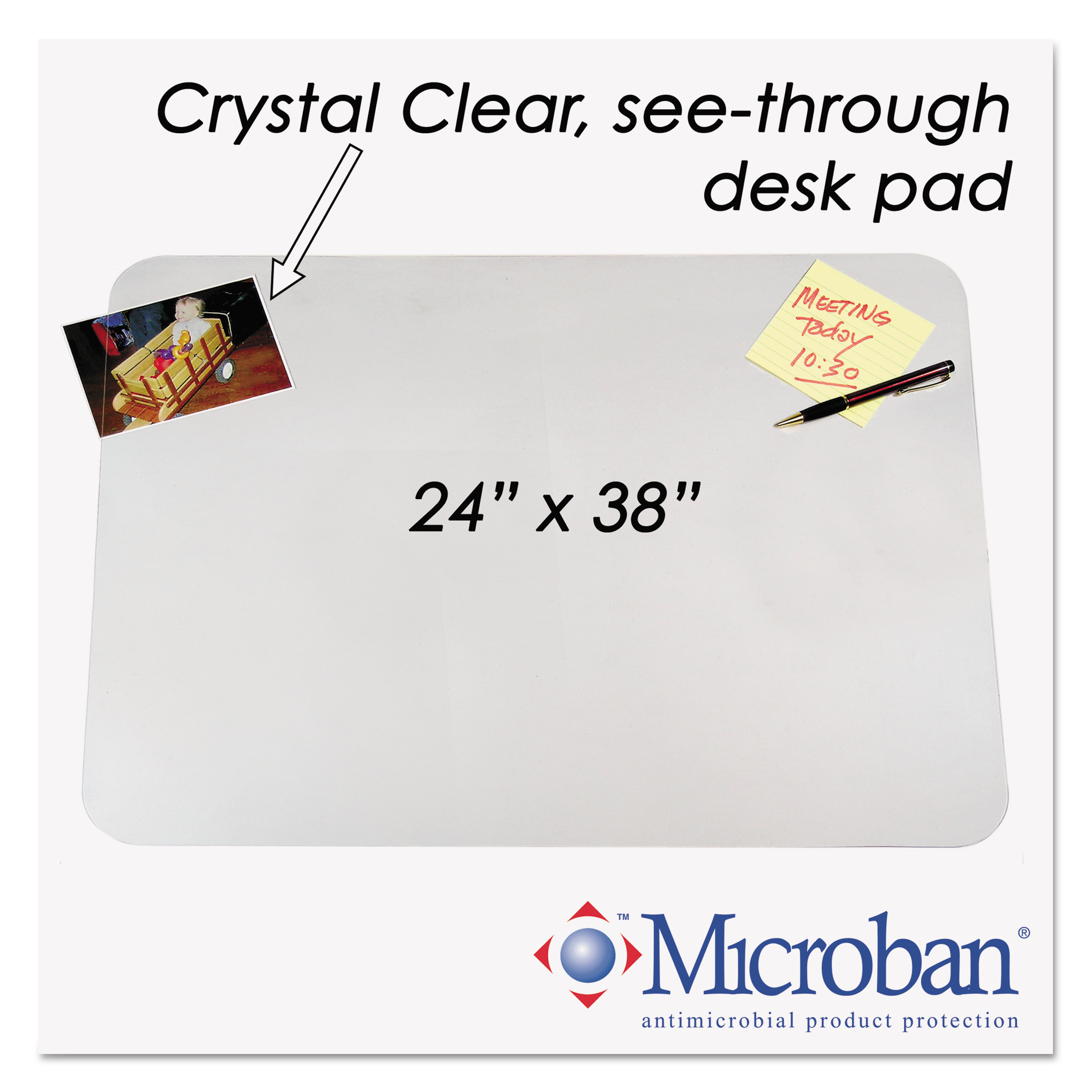 Clear Protective Desk Cover Hostgarcia