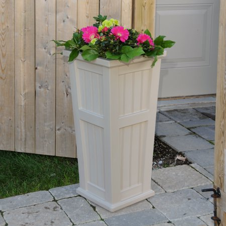 Cape Cod Tall Planter Clay