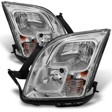 Ford Fusion Headlight Assembly (Fit 06-09 Ford Fusion Headlights Driver+Passenger Side Replacement)
