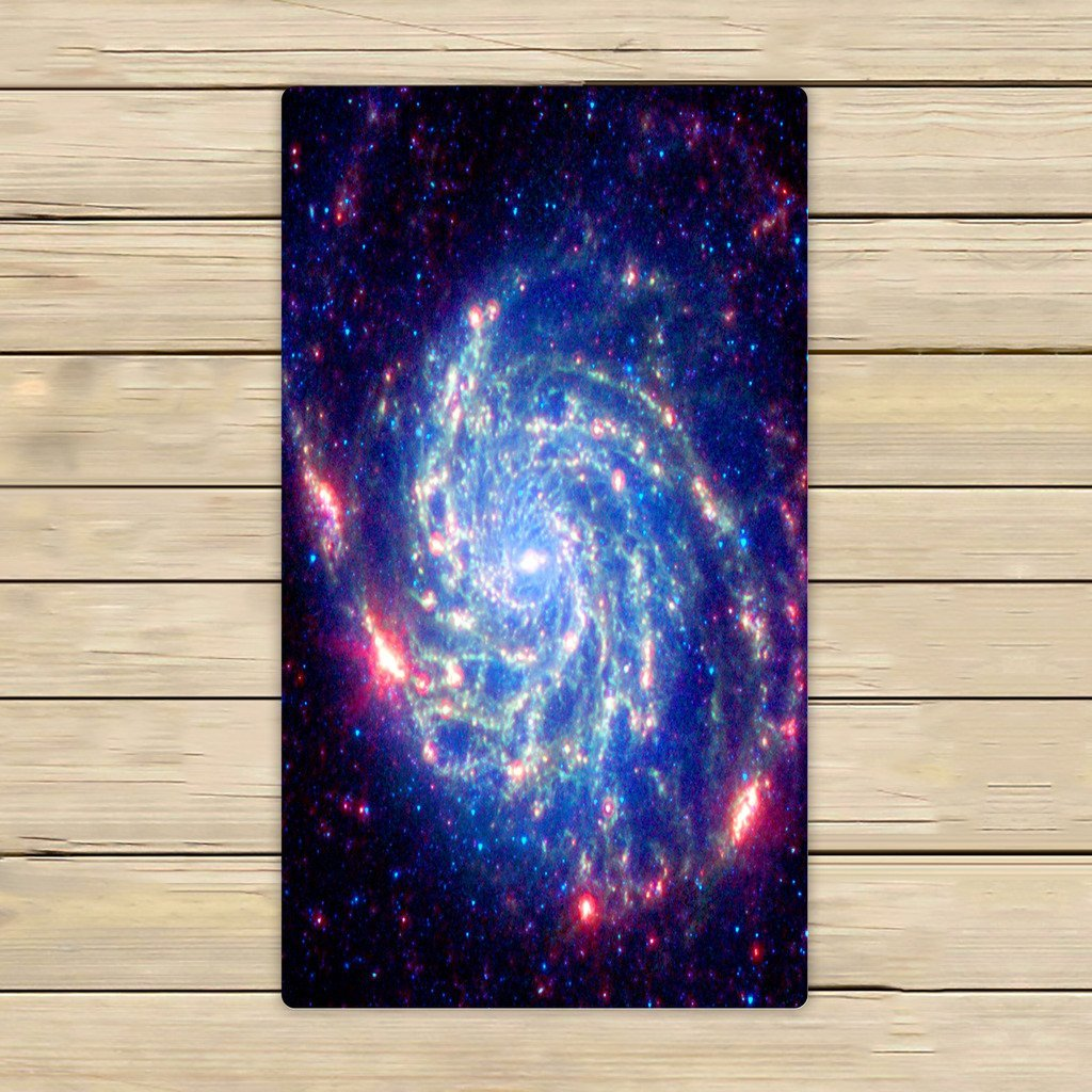 Towel Interstellar Travel: GCKG Universe Space Galaxy Nebula Cloud Outer Space Towels