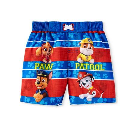 PAW Patrol Swim Trunk Board Shorts (Baby Boys) (Baby Swim Google)