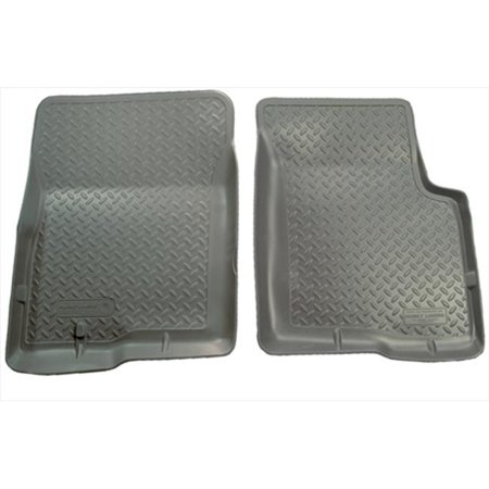 Classic Style Series Thermoplastic Elastomer Grey Front Floor Liners Classic Series Floor