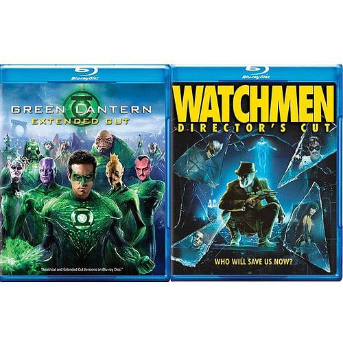 Green Lantern (2011) / The Watchmen (Blu-ray) (Widescreen)
