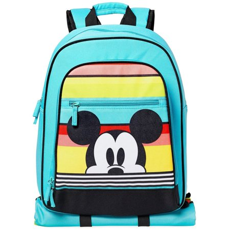- Disney Mickey Mouse Summer Fun Backpack [with Picnic Mat]