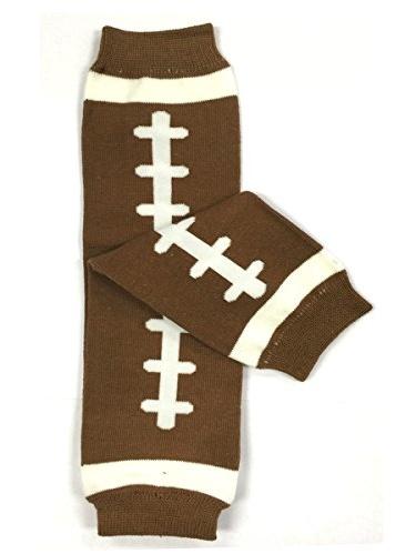 ALLYDREW Funky Prints & Patterns Baby Leg Warmer & Toddler Leg Warmer for Boys & Girls, Football