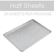 The Smart Baker Half Sheet Pre-Cut Parchment Sheets, 13 x 18 - Pack of 24