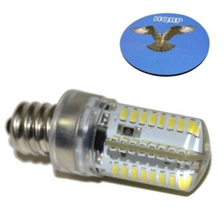 HQRP 4040 40V LED Light Bulb Cool White For Janome New Home 40 Custom White 5500 Sewing Machine