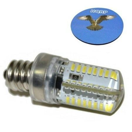 Hqrp 7 16 110v led light bulb cool white for janome new for Decor excel 5018