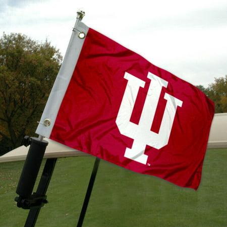 IU Golf Cart Flag - Iu Banners