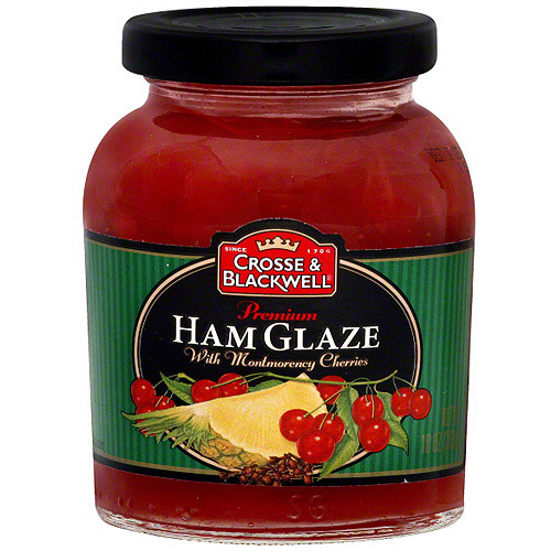 Crosse & Blackwell Ham Glaze With Montmorency Cherries, 10 oz (Pack of 6)