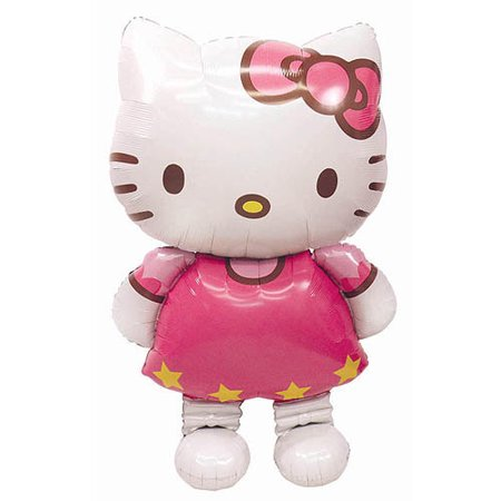 Hello Kitty Giant Gliding Balloon - Party City Hello Kitty Balloons