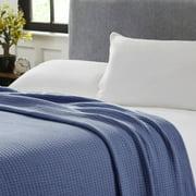 Modern Threads 100% Cotton Waffle Weave Thermal Blanket - Denim