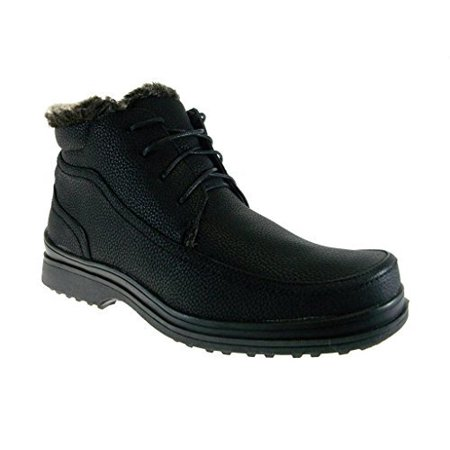 Brixton Men's Rusi 03 Lace Up Fur Lined Winter