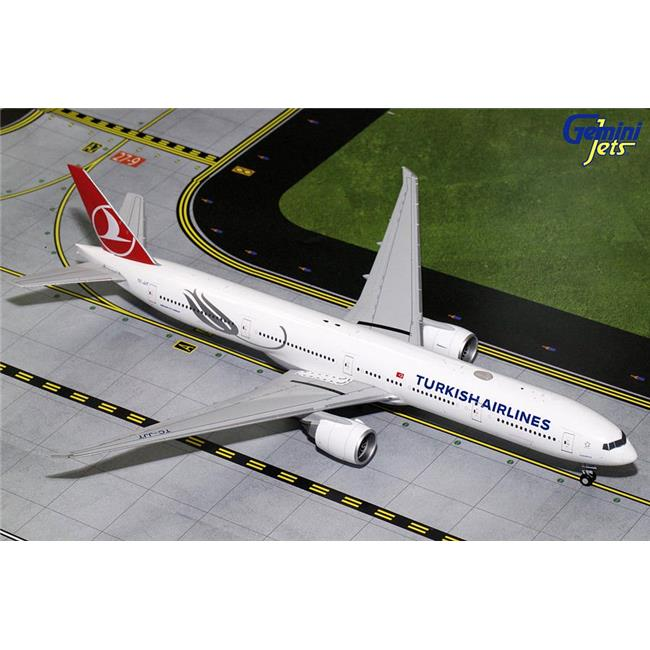Gemini Jets G2THY680 Turkish Airlines Boeing 777-300ER Diecast Model Plane, TC-JJT