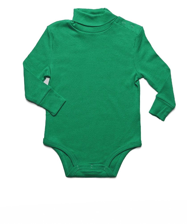 2 Toddler -14 Years Leveret Boys Girls Maroon Solid Turtleneck 100/% Cotton