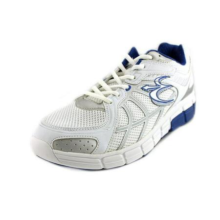 Anti Gravity Shoes (Gravity Defyer Super Walk Men  Round Toe Canvas White Sneakers)