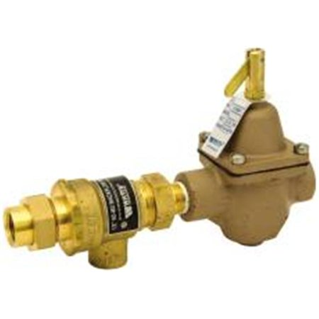- Watts 484010 .5 in. Ips Backflow Preventer and Hot Water Boiler Fill Valve